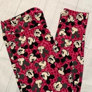 LulaRoe Leggings Tall & Curvy Mickey Mouse Unicorn
